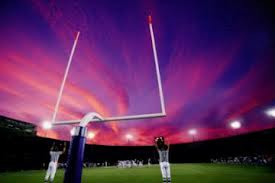 This is the coolest picture of a field goal that I could find.