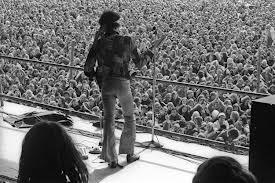 Jimi Hendrix's last concert.