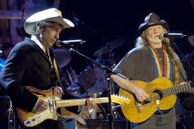 Willie Nelson and Bob Dylan
