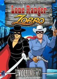 Lone Ranger and Zorro